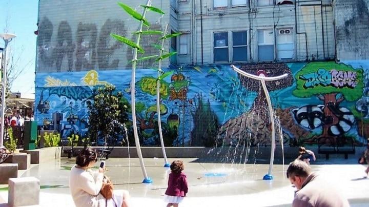 Los juegos acuáticos Vortex permiten proteger los parques del vandalismo