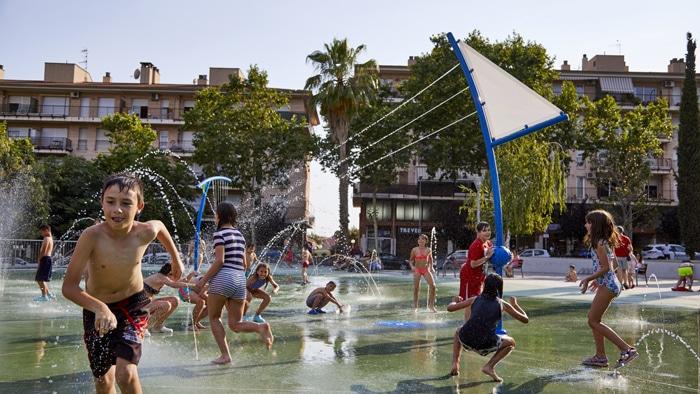 parque de agua VORTEX en Castellar del Vallés en Cataluña