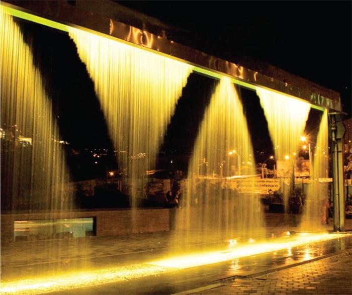 Fuente de agua Watermark de VORTEX