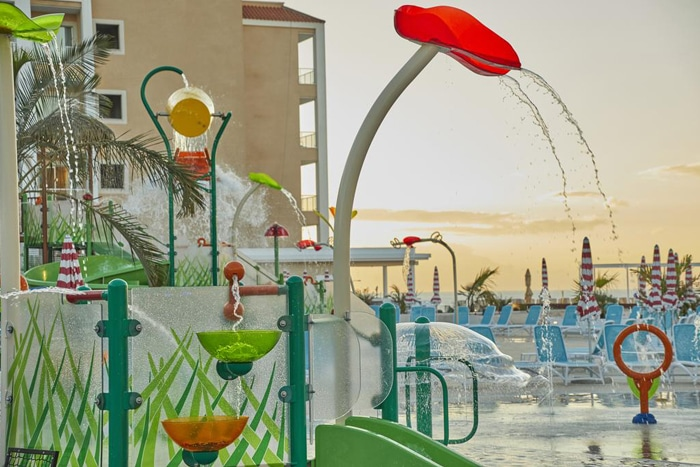Splashpad de VORTEX en el nuevo hotel Bahía Príncipe