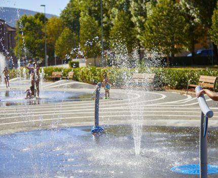 Íñigo Segurola y VORTEX colaboran en el parque de agua de Oñati