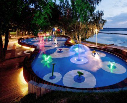 MAESTRO: control de agua inteligente de juegos acuáticos