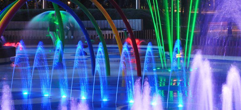 Agua e iluminación en proyectos urbanísticos