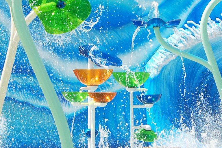 Soporte técnico para parques de agua sin profundidad VORTEX