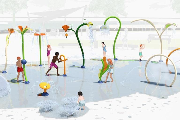 Un parque de agua para todas las edades en un único espacio