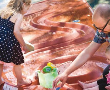integrar un parque de agua Splashpad en una smart city