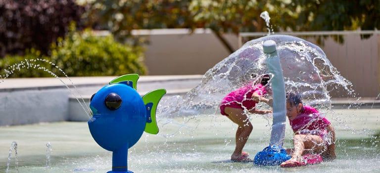 Seguridad en los juegos de los parques acuáticos