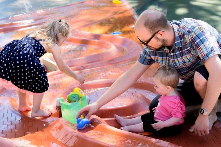 ¿Son solo los parques acuáticos para niños?