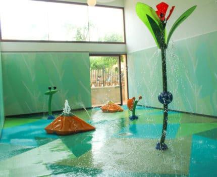 Primer Splashpad indoor en España