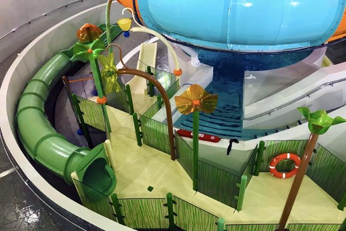 Solución acuática de interior en Coventry de VORTEX