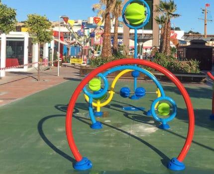 Los juegos infantiles acuáticos de VORTEX se adaptan al espacio disponible de tu proyecto