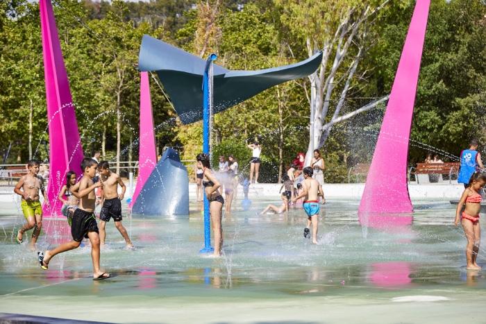Parque acuático urbano de VORTEX en Castellar del Vallès
