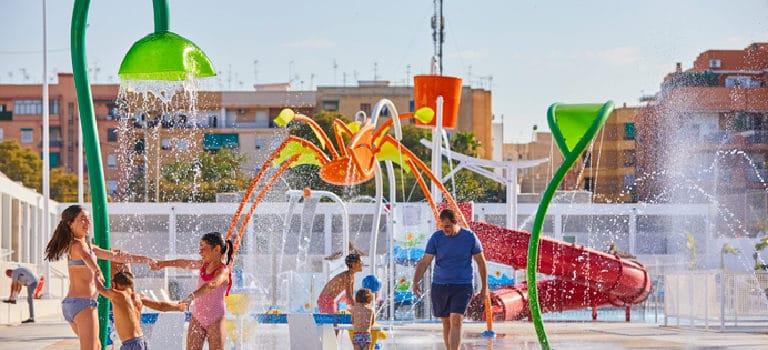 Opciones de ocio acuático para la ciudad