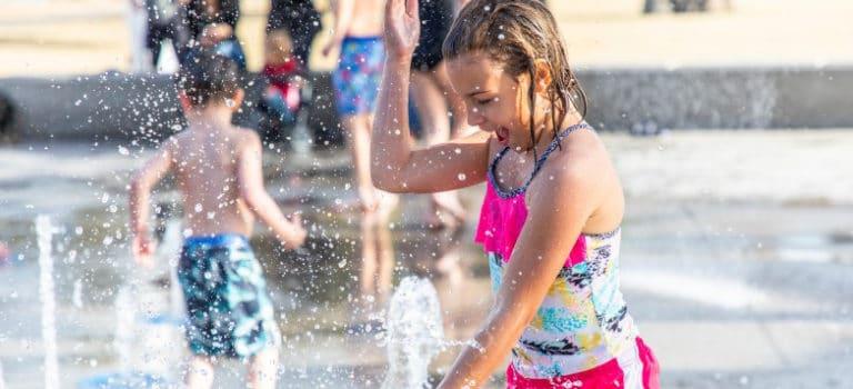 Integrar juegos de agua en los proyectos para un municipio