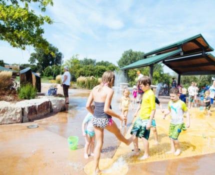 Parque de agua universal en las ciudades; una nueva realidad