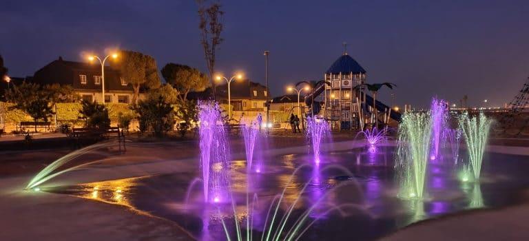 Nuevo Splashpad en el Parque de los Héroes en Colmenar Viejo