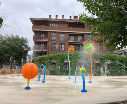 El ayuntamiento de Arrasate vuelve a confiar en VORTEX para integrar un nuevo Splashpad