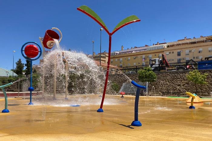 VORTEX y su Splashpad en el municipio de Marchena